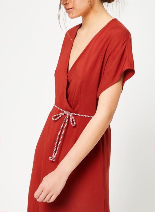Vêtements Marie Sixtine DRESS NORA Rouge vue droite