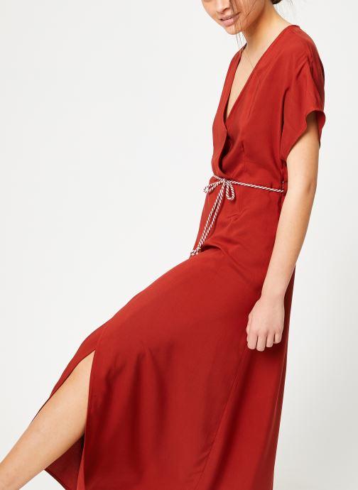 Vêtements Marie Sixtine DRESS NORA Rouge vue détail/paire