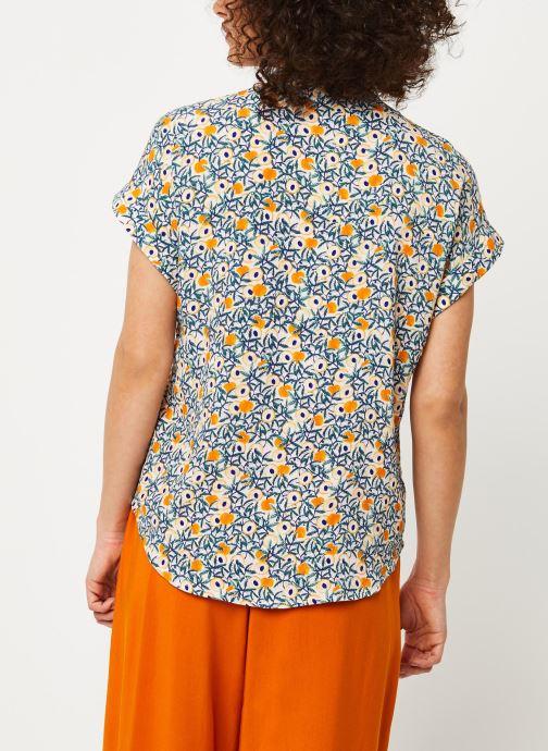 Vêtements Marie Sixtine SHIRT HELENE Multicolore vue portées chaussures