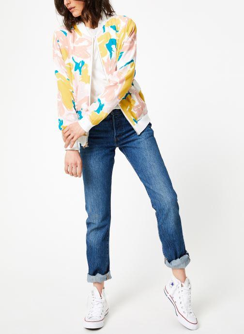 Vêtements Marie Sixtine JACKET ZOE Rose vue bas / vue portée sac