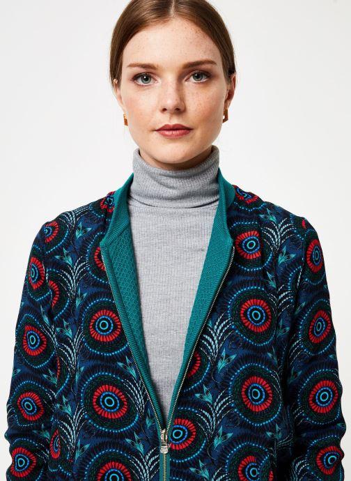 Vêtements Marie Sixtine JACKET ZOE Bleu vue face