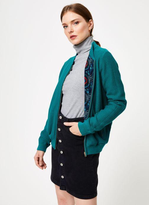 Vêtements Marie Sixtine JACKET ZOE Bleu vue droite