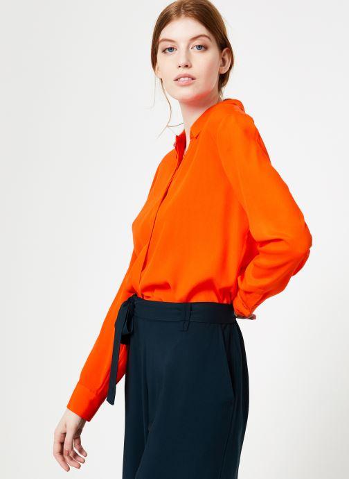 Vêtements Marie Sixtine SHIRT ASATI Rouge vue droite