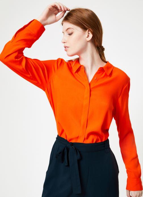 Vêtements Marie Sixtine SHIRT ASATI Rouge vue détail/paire
