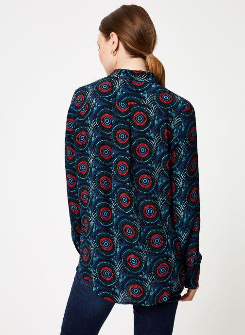 Vêtements Marie Sixtine SHIRT ASATI Bleu vue portées chaussures
