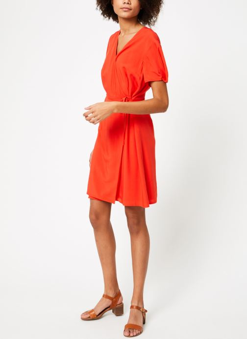 Vêtements Marie Sixtine DRESS MILO Rouge vue bas / vue portée sac