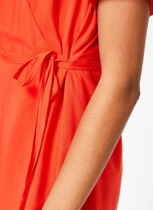 Vêtements Marie Sixtine DRESS MILO Rouge vue face