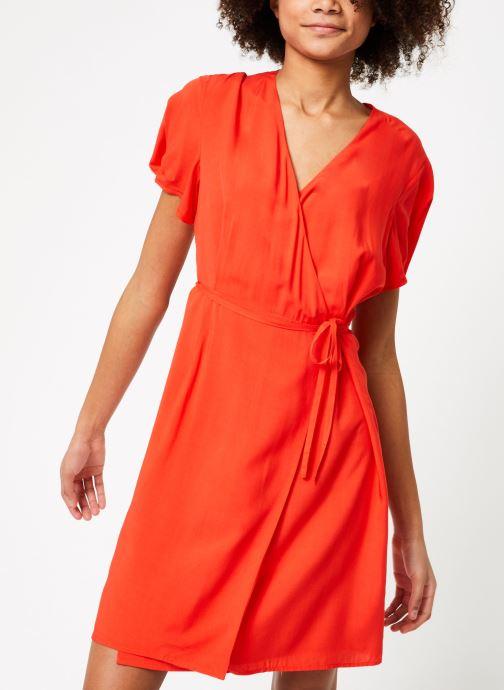 Vêtements Marie Sixtine DRESS MILO Rouge vue droite