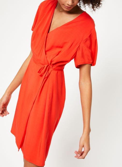 Vêtements Marie Sixtine DRESS MILO Rouge vue détail/paire