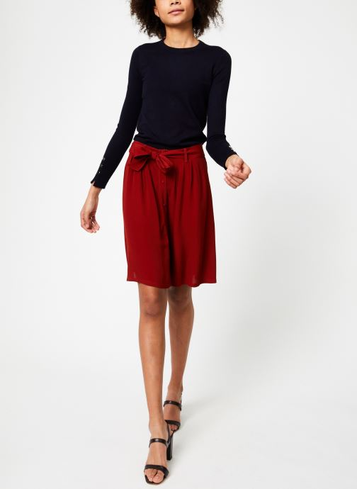 Vêtements Marie Sixtine SKIRT MISHA Rouge vue bas / vue portée sac