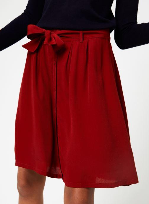 Vêtements Marie Sixtine SKIRT MISHA Rouge vue détail/paire