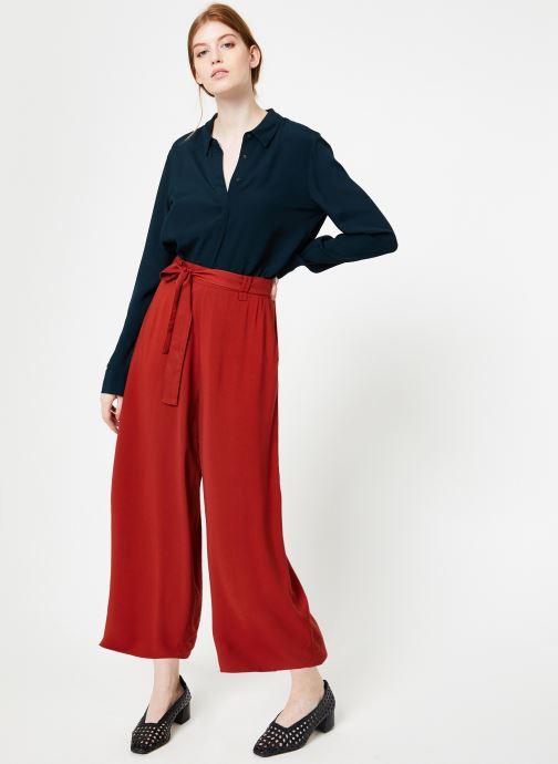 Vêtements Marie Sixtine PANTS SANDRO Rouge vue bas / vue portée sac
