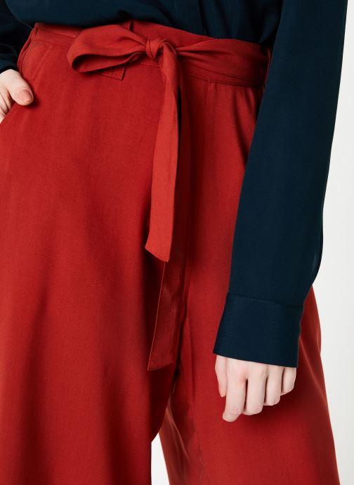 Vêtements Marie Sixtine PANTS SANDRO Rouge vue face