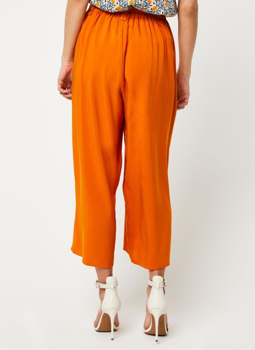 Vêtements Marie Sixtine PANTS SANDRO Orange vue portées chaussures