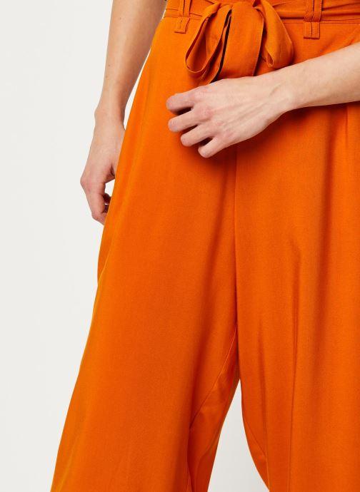 Vêtements Marie Sixtine PANTS SANDRO Orange vue face