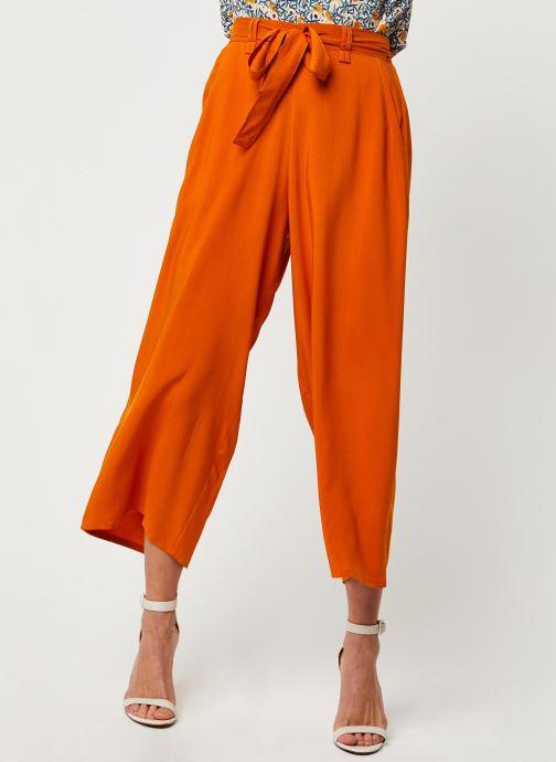 Vêtements Marie Sixtine PANTS SANDRO Orange vue détail/paire