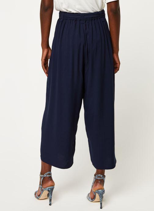 Vêtements Marie Sixtine PANTS SANDRO Bleu vue portées chaussures