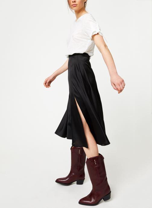 Vêtements Marie Sixtine TSHIRT SOLANGE Blanc vue bas / vue portée sac