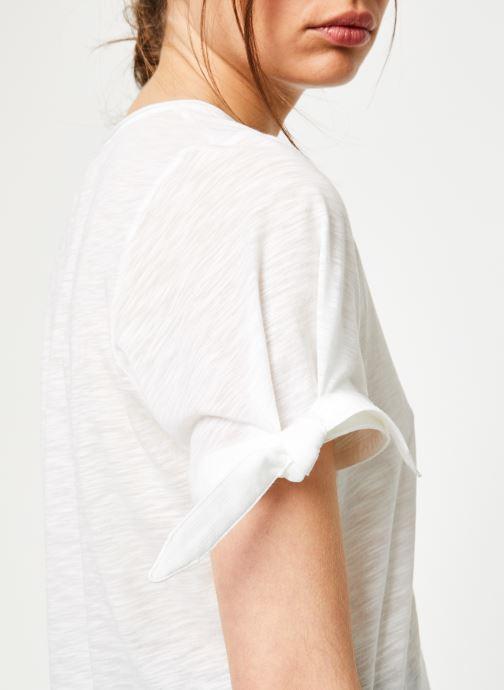Vêtements Marie Sixtine TSHIRT SOLANGE Blanc vue face