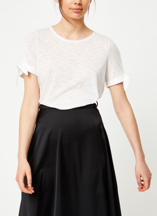 Vêtements Marie Sixtine TSHIRT SOLANGE Blanc vue droite