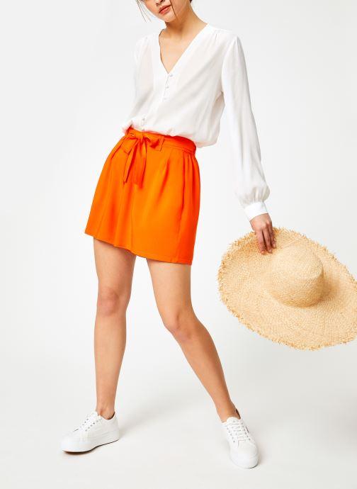 Vêtements Marie Sixtine SHORT SANDRA Orange vue bas / vue portée sac