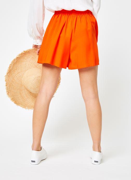 Vêtements Marie Sixtine SHORT SANDRA Orange vue portées chaussures