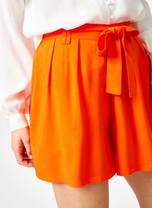 Vêtements Marie Sixtine SHORT SANDRA Orange vue face