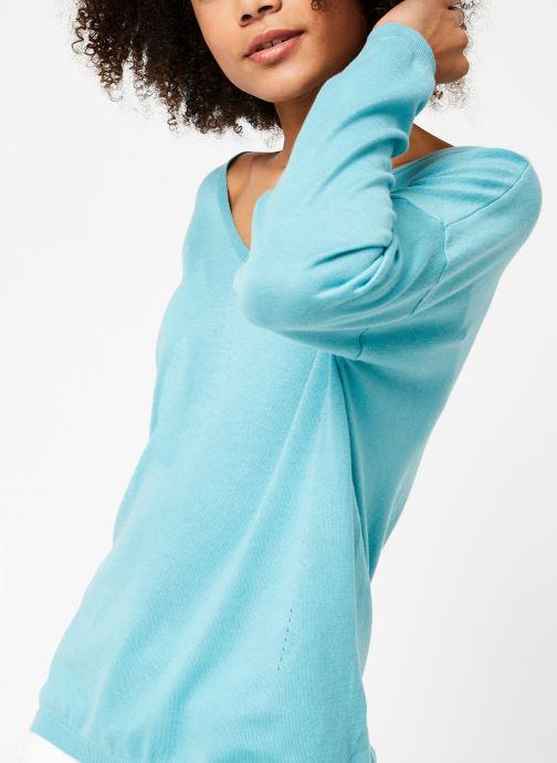 Vêtements Marie Sixtine SWEATER INES Vert vue détail/paire
