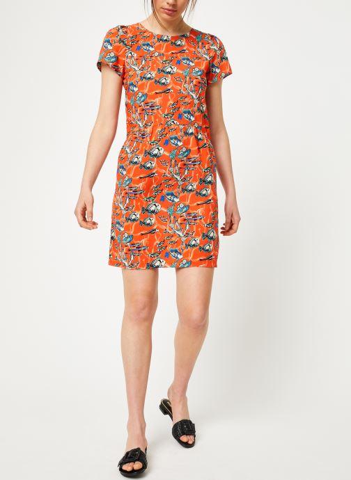 Vêtements Marie Sixtine DRESS ENYA Orange vue bas / vue portée sac