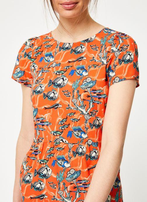 Vêtements Marie Sixtine DRESS ENYA Orange vue face
