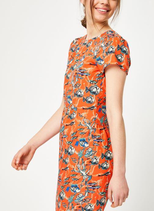 Vêtements Marie Sixtine DRESS ENYA Orange vue détail/paire