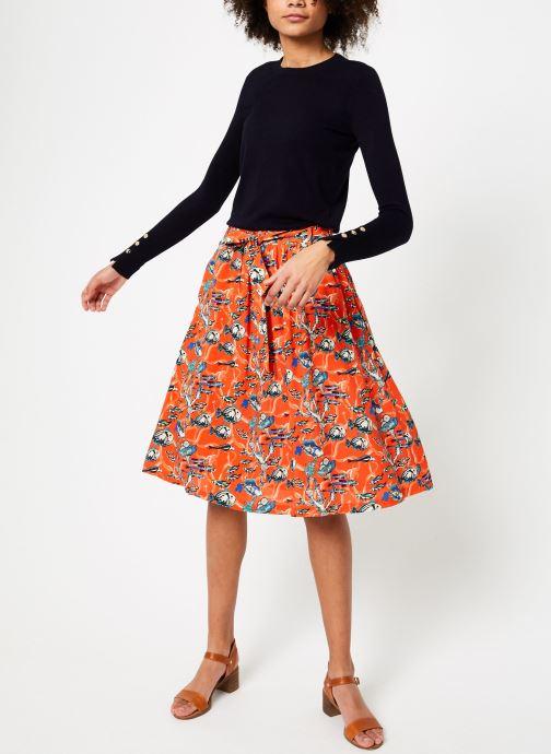 Vêtements Marie Sixtine SKIRT CELINE Orange vue bas / vue portée sac