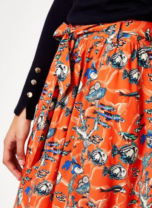Vêtements Marie Sixtine SKIRT CELINE Orange vue face