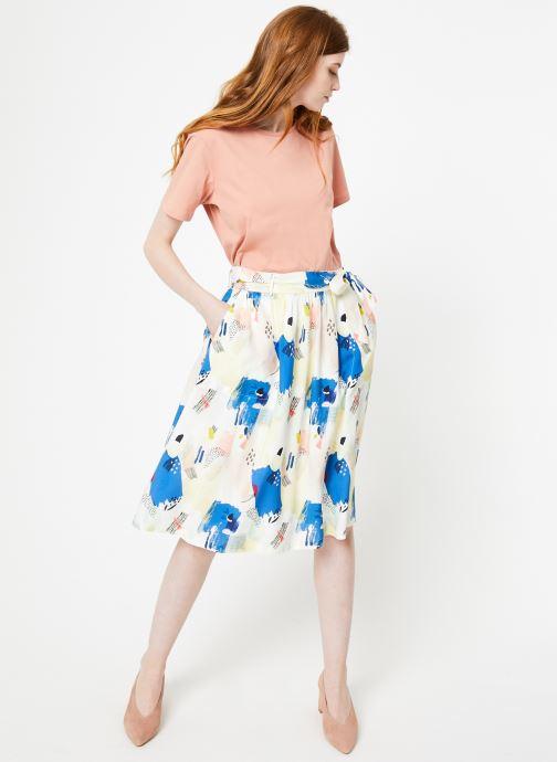 Vêtements Marie Sixtine SKIRT CELINE Multicolore vue bas / vue portée sac