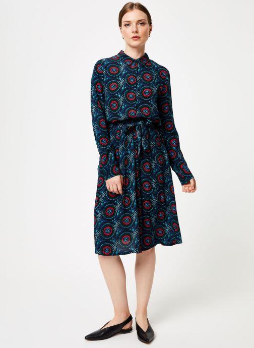Vêtements Marie Sixtine SKIRT CELINE Bleu vue bas / vue portée sac