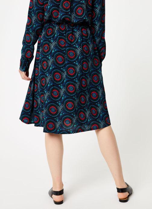 Vêtements Marie Sixtine SKIRT CELINE Bleu vue portées chaussures