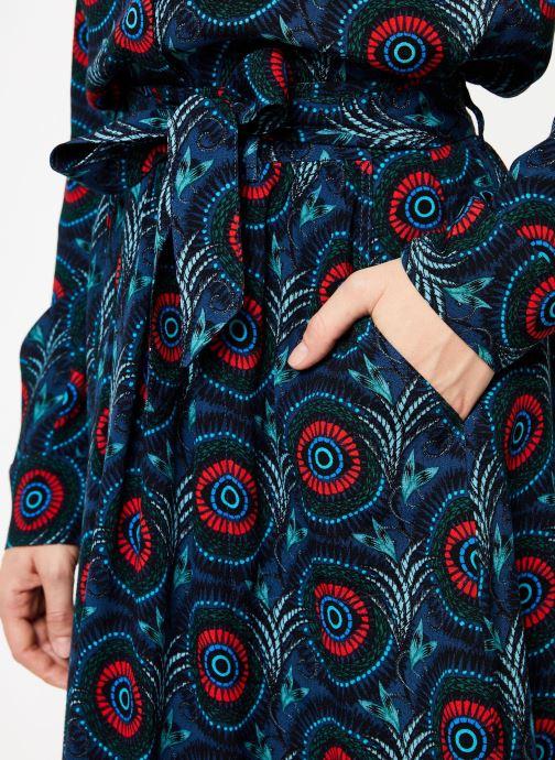 Vêtements Marie Sixtine SKIRT CELINE Bleu vue face