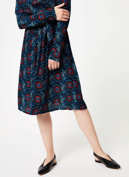 Vêtements Marie Sixtine SKIRT CELINE Bleu vue détail/paire