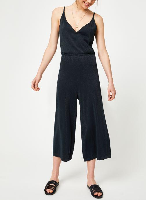 Vêtements Marie Sixtine JUMPSUIT LAURE Bleu vue bas / vue portée sac