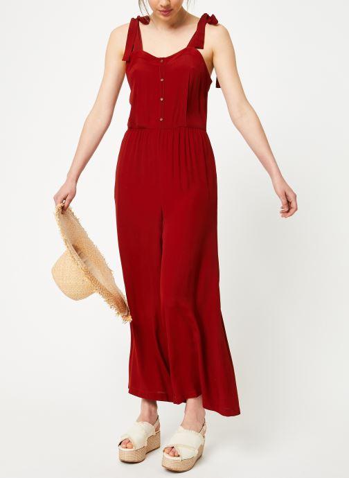 Vêtements Marie Sixtine JUMPSUIT MELODY Rouge vue bas / vue portée sac
