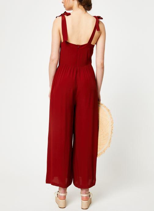 Vêtements Marie Sixtine JUMPSUIT MELODY Rouge vue portées chaussures