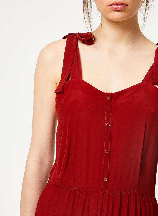 Vêtements Marie Sixtine JUMPSUIT MELODY Rouge vue face