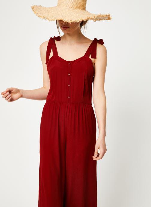 Vêtements Marie Sixtine JUMPSUIT MELODY Rouge vue détail/paire