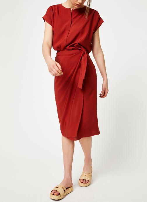 Vêtements Marie Sixtine SHIRT HAVA Rouge vue bas / vue portée sac