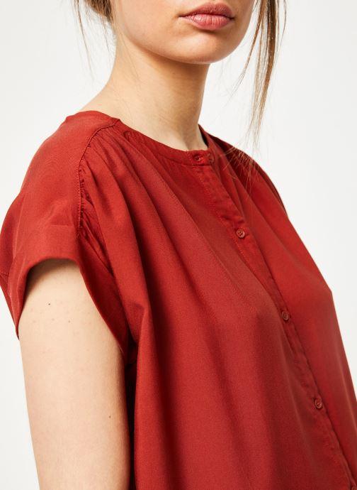 Vêtements Marie Sixtine SHIRT HAVA Rouge vue face