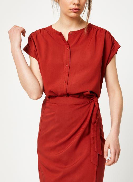 Vêtements Marie Sixtine SHIRT HAVA Rouge vue droite