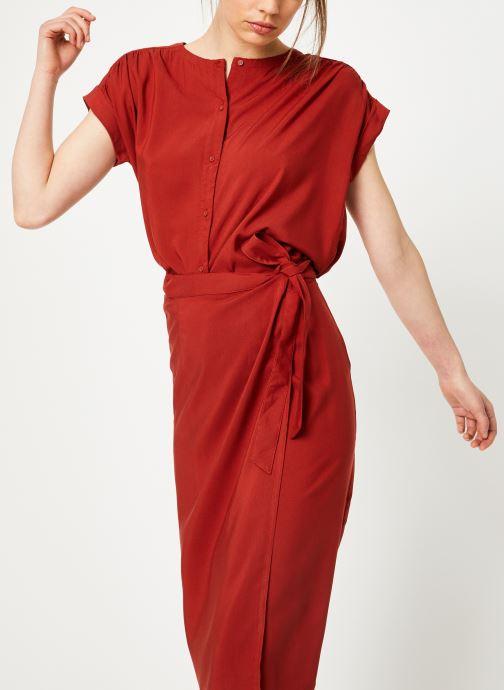 Vêtements Marie Sixtine SHIRT HAVA Rouge vue détail/paire