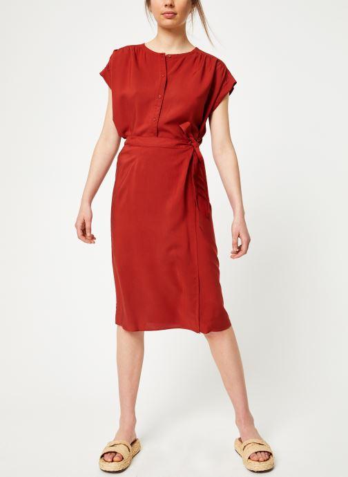 Vêtements Marie Sixtine SKIRT NINA Rouge vue bas / vue portée sac