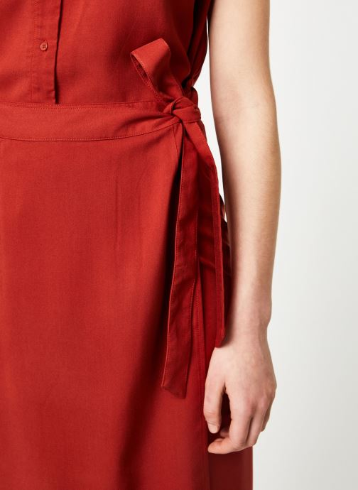 Vêtements Marie Sixtine SKIRT NINA Rouge vue face