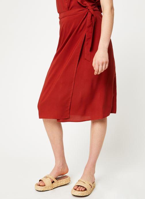 Vêtements Marie Sixtine SKIRT NINA Rouge vue droite